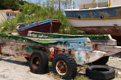 Anpassad båtskötsel och utrustning